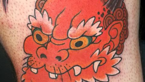 tatuaje japones tradicional granada